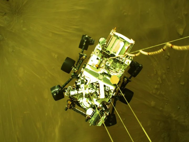 China Has Successfully Landed Its Own Mars Rover