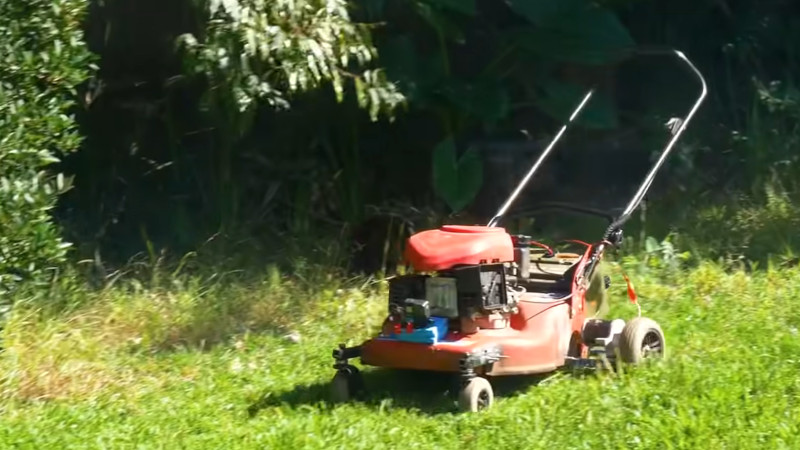 Building A Quick and Dirty RC Mower With FPV