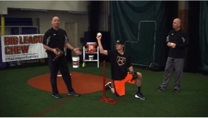 Baseball throwing drills
