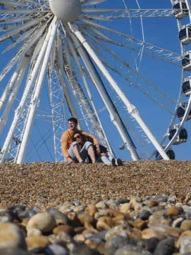 beach ferris wheel