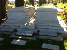 DeMille tomb