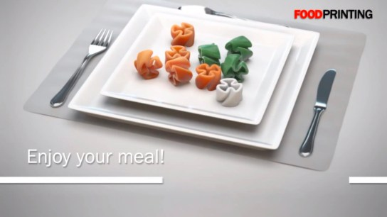 Stop hunger with 3-D printed food?
