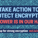 Stand Up For Strong Encryption – Mozilla Advocacy