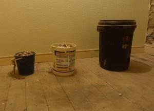 Dream buckets rubble