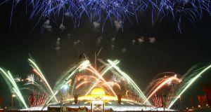 fireworks, celebration, success