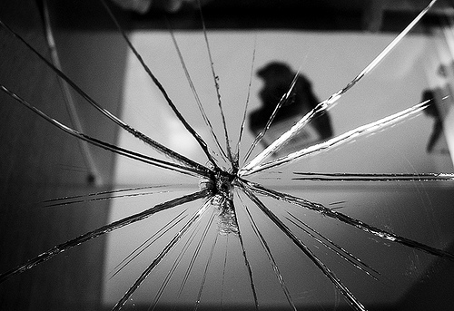 broken mirror, reflections, self hate