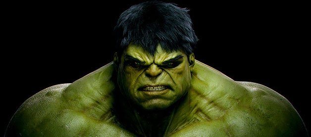 Hulk, hate, success, ego
