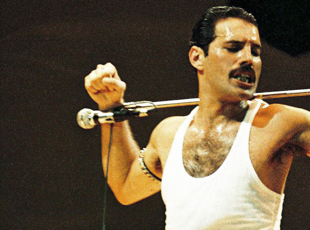 Freddie Mercury, success, wealth