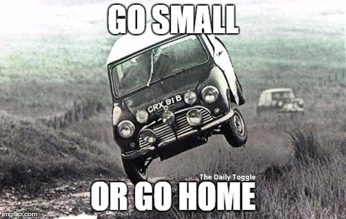 mini, small, meme, success