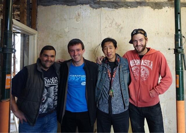 Ben Chai, Alex WIlliams, family, friends