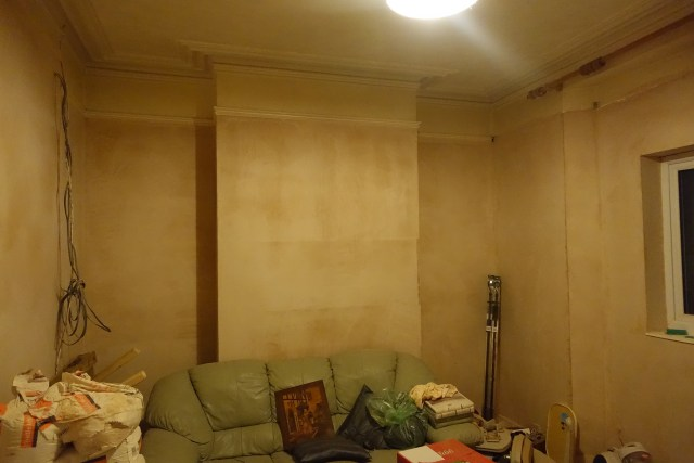 paint, electrics, cement, plaster