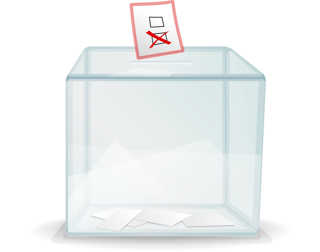 ballot, voting, mortgage