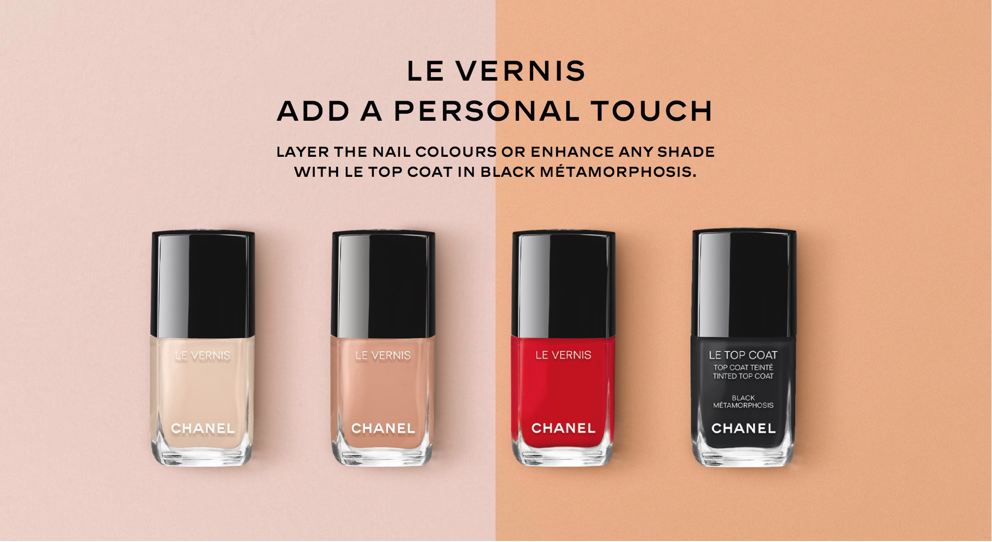 Chanel Coco Codes collection, Le Vernis, Spring 2017