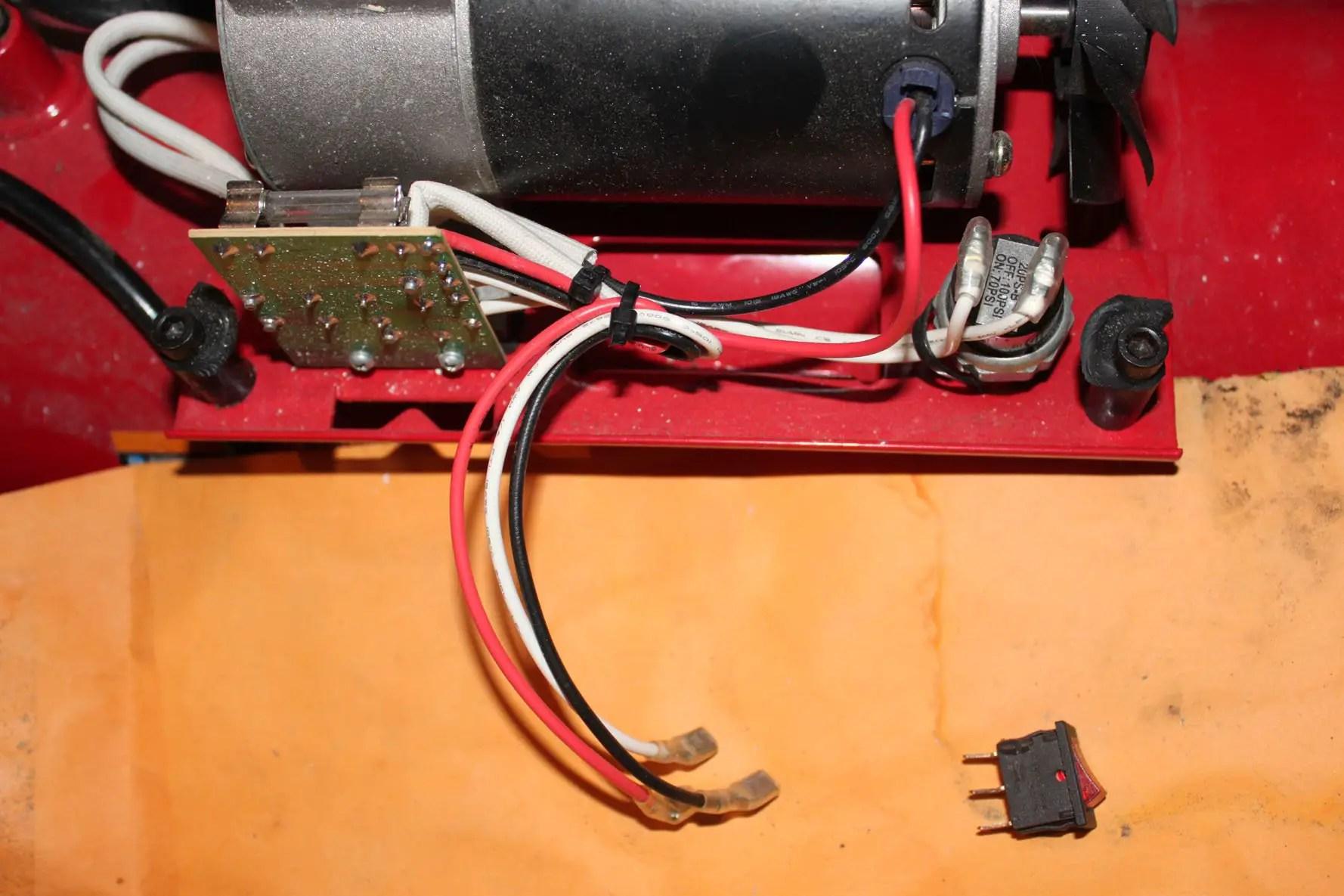 Coleman Air Compressor Wiring Diagram Coleman Air Compressor