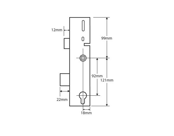 Gearbox 35mm ERA Split Spindle 4
