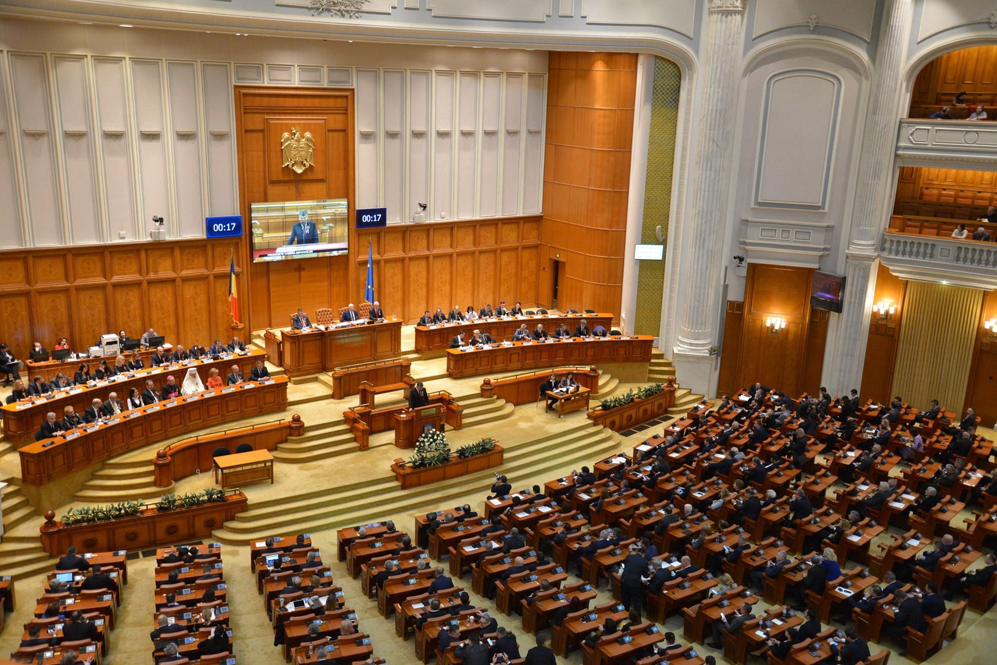 Stare de alerta modificata în parlament