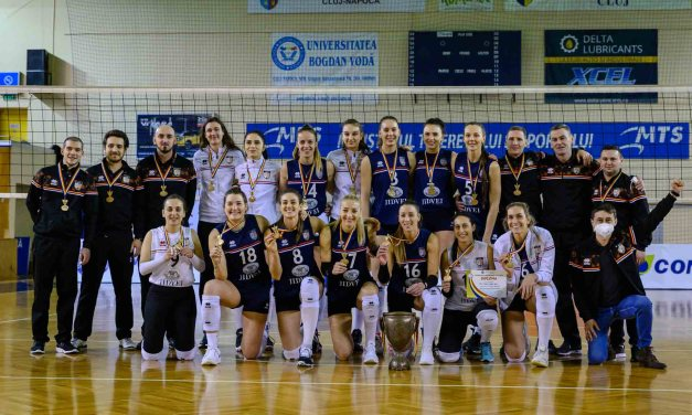 Finală fără istoric! CSM Volei Alba Blaj își adjudecă trofeul Cupei României la volei feminin