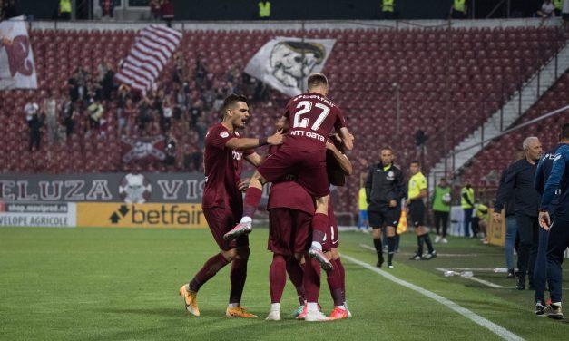 CFR Cluj își păstrează recordul imaculat în Gruia. Un singur gol a decis meciul împotriva Chindiei
