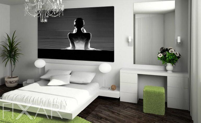 Alle Bettgeheimnisse  Wandposter und Wandbilder fr Schlafzimmer  Bilder und Poster  FIXARde
