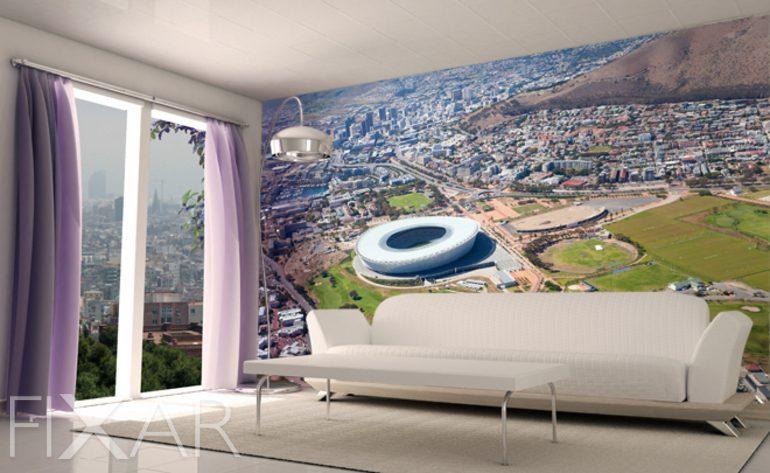 design fototapete wohnzimmer grun fototapete wohnzimmer modern ... - Fototapete Wohnzimmer Grun