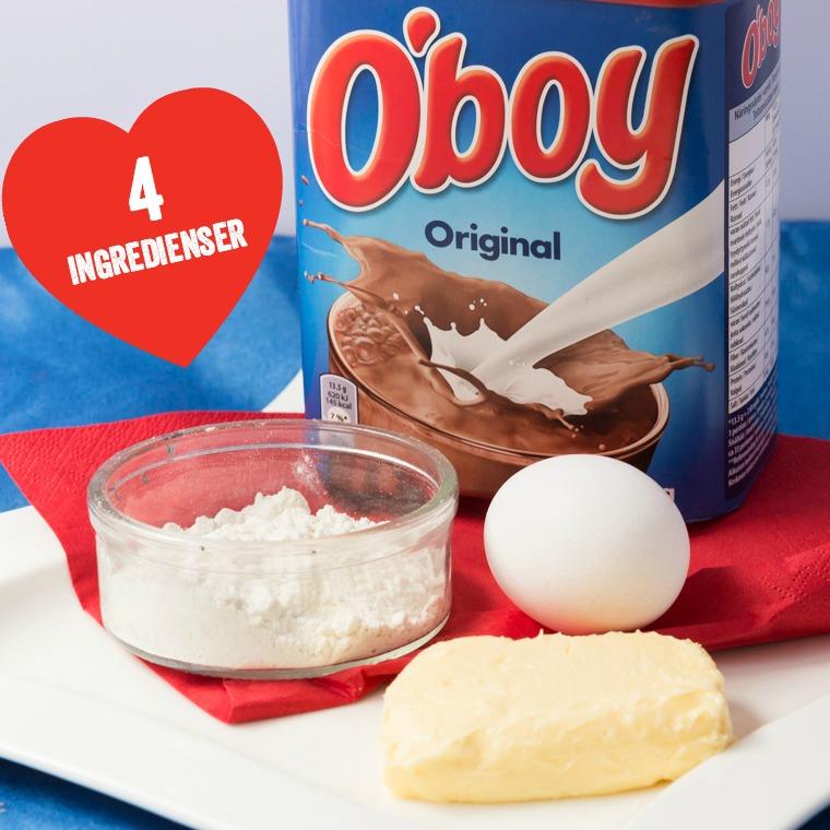 kladdkaka med oboy recept