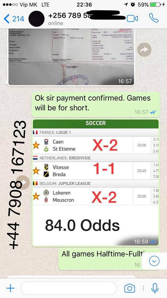 sure fixed matches
