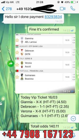 betslip fixed matches proof