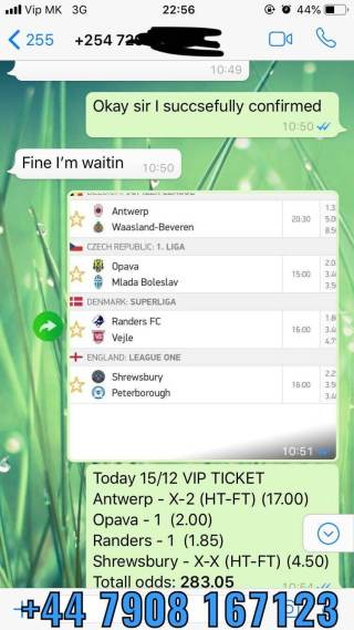 sure fixed matches proof vip ticket