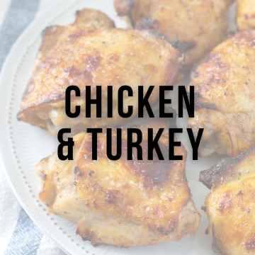 Chicken and Turkey