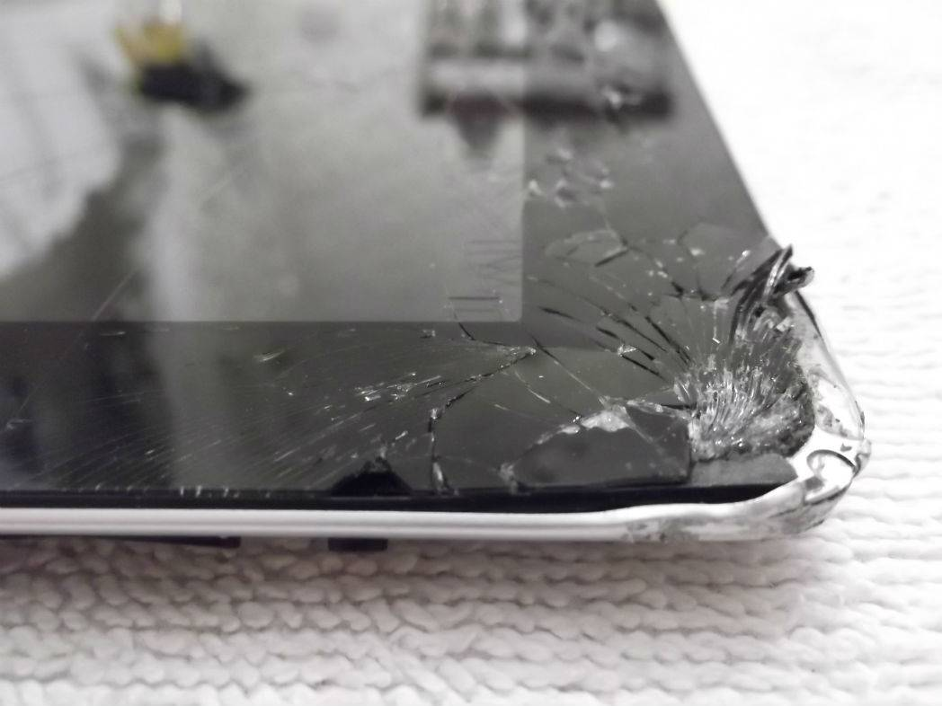 iPad broken corners repair service london