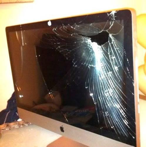 IMAC 27 with broken screen repair in London