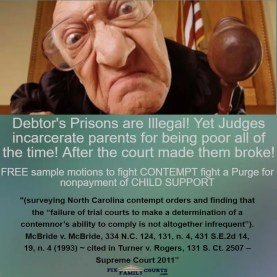 debtor prison judge jail