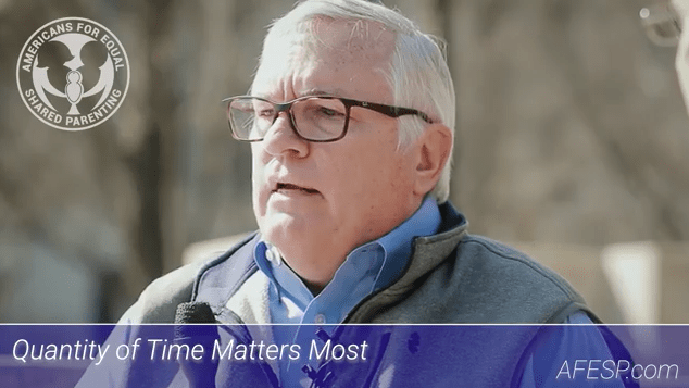 """Picture of Dr. Bedell and logo of AFESP.com along with text that reads """"Quantity of Time Matters Most. picture courtesy of Dr. Neil Cowley."""