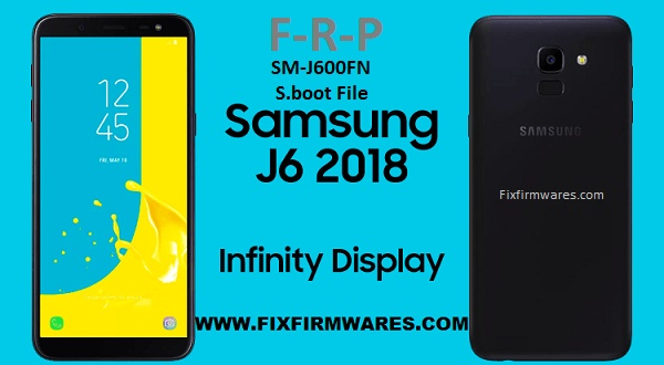 SM-J600FN ENG S Boot File ADB Enable Bypass FRP Galaxy j6 2018