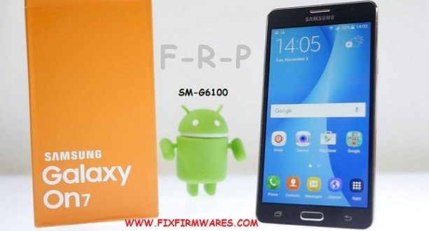 SM-G6100 ENG S Boot File ADB Enable Bypass FRP Galaxy On7 2016