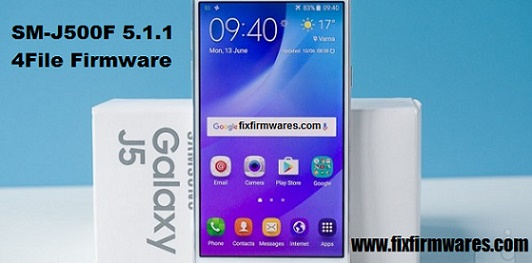 SM-J500F Galaxy J5 4File 5 1 1 official Firmware Download