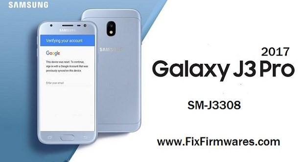 Bypass FRP | Samsung Galaxy j3 2017 SM-j3308 Eng-Sboot Tar Md5