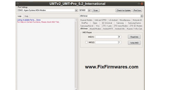UMT Dongle Setup | New Update UMTv2_UMT-Pro_5 2_International