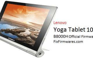 Lenovo Yoga Tablet 10 B8000H