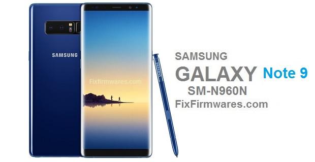 Samsung Galaxy Note 9 | SM-N960N- CF Auto Root - File