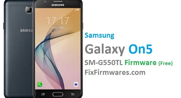 Samsung Official Firmware - SM-G550TL 4-Files Firmware (Free)
