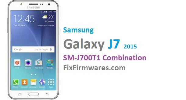 Samsung Galaxy J7 SM-J700T1 Samsung Combination File Download