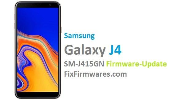 SM-J415GN Official 4-File Firmware | Fix-Firmwares