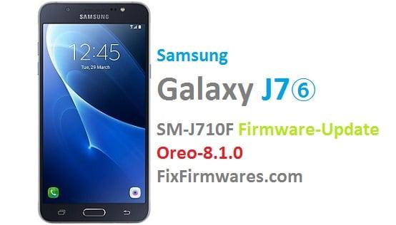 SM-J710F Official Firmware Update Oreo 8 1 0 | Fix-Firmwares