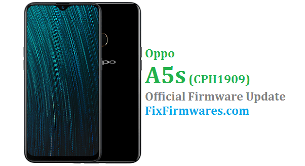 Oppo A5s (CPH1909) Stock Rom - Oppo Firmware Download
