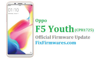 Oppo F5 Youth, CPH1725