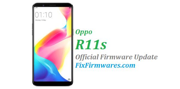 Oppo R11s, Oppo Firmware Download, CPH1719,
