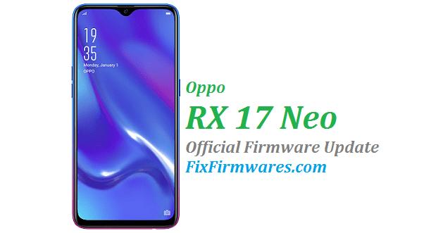 Oppo RX17 Neo, CPH1893,