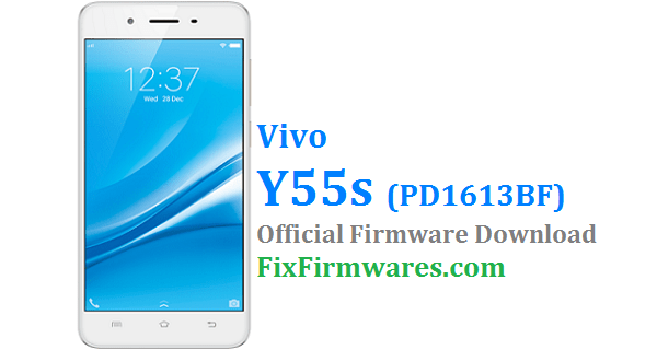Vivo Y55s Firmware (PD1613BF) Download Free | Fix-Firmwares