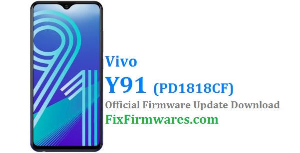 Vivo Y91 PD1818CF Firmware - Vivo Flash File | Download Free